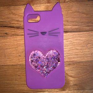 Silicone Cat iPhone Case